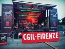 Palco Mobile Firenze Tour CGIL