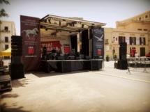 Palco Mobile Palermo 2016 Tour CGIL