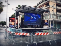 Palco Mobile Pescara in Seria A